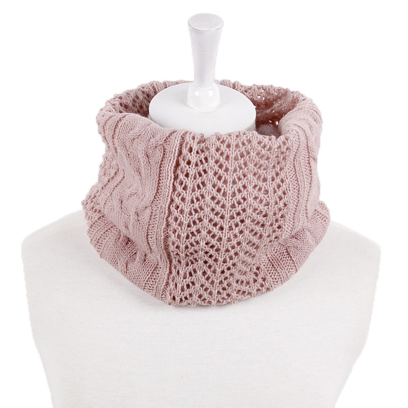 Winter Unisex Knitted Scarves Lic Female Ring Collar Neck Scarf Warmer Men Woman's Crochet Ring Spain Loop Scarves For Lady