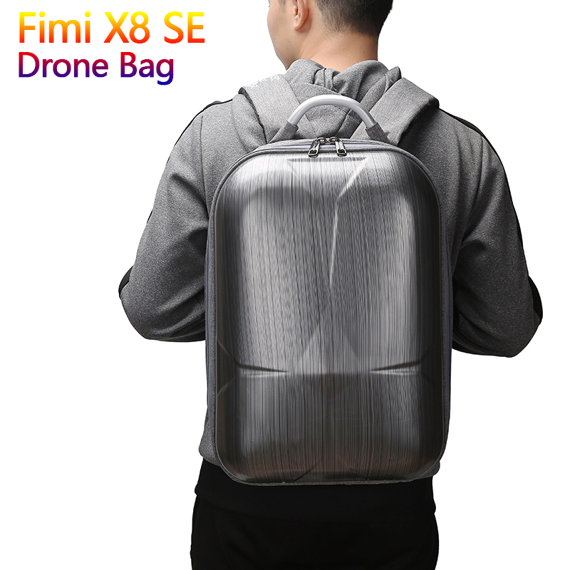 Fimi X8 SE Drone Bags EVA Hard Storage Backpack For Xiaomi Fimi X8 SE RC Quadcopter Carrying Portable Bag Protect AccessoriesFimi X8 SE Drone Bags EVA Hard Storage Backpack For Xiaomi Fimi X8 SE RC Quadcopter Carrying Portable Bag Protect Accessories