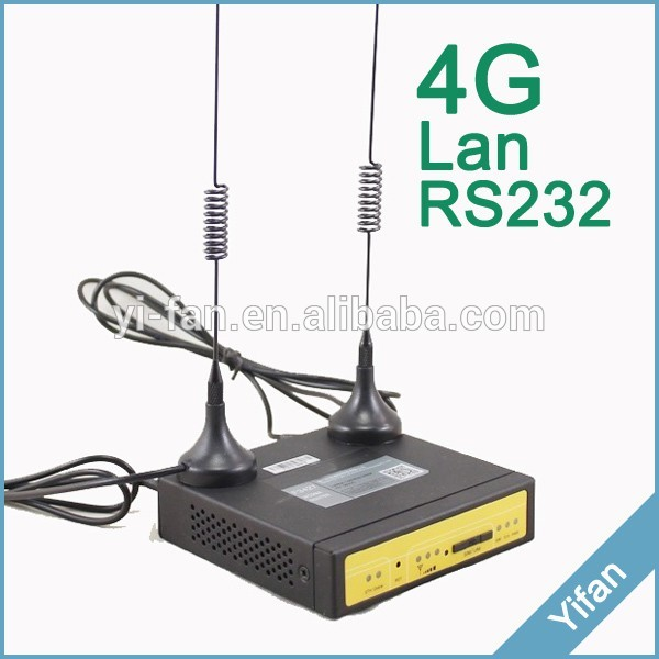 small size support VPN support B28 CAT6 300Mhz F3827 Industrial 4g router for video monitoring