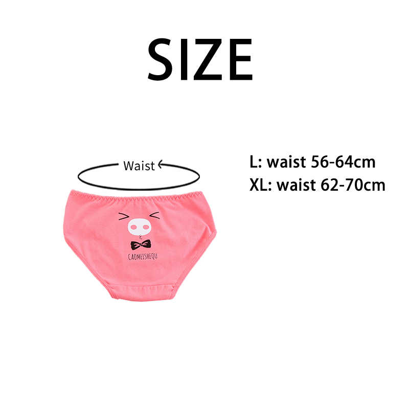 a53b9c301f29 ... 2019 NEW Funny animals Panties Female Cotton Mid waist Briefs Teenage girls  underpants Women's shorts Kawaii ...