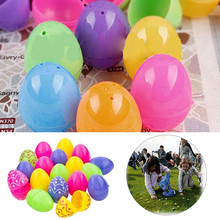 Buy easter gifts kids and get free shipping on aliexpress colorful easter eggs plastic eggs diy children party gifts decoration hunt easter party favors supplies negle Image collections