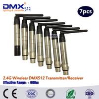 DHL free shipping DJ led stage light wireless dmx controller dmx512 rgb led controller receiver transmitter