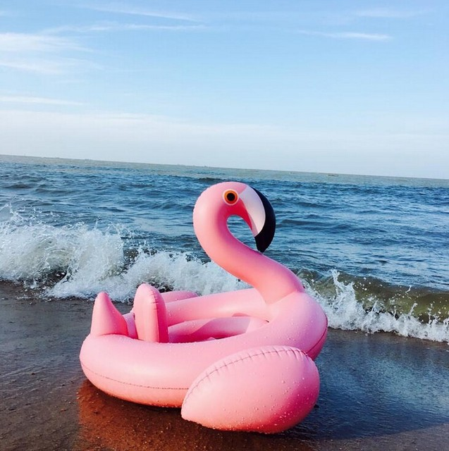 0-4 Years Old Flamingo Baby Seat Float Swimming Pool Party Swimming Ring Children Swimming Pool