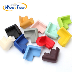 8Pcs/Lot Baby Kids Safety Care Products Environmentally Friendly Soft Super Elastic NBR Thicken Baby Crash Corner Protector