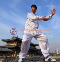 2014 New Wholesale Chinese Kung Fu Suit Martial Art Jacket Pants Set Tai Chi Wushu Uniform