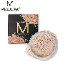 Miss Rose 12 Colors Face Powder Makeup Palette Natural Mineral Loose Brighten Concealer Foundation Cosmetics