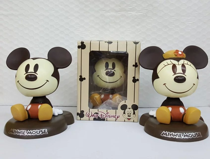 Mickey Mouse and Donald Duck Minnie Mouse Action Figure 1/8 scale painted figure Mickey Mouse Doll PVC ACGN figure Toys Anime