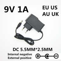 1PCS 9V 1A 1000MA AC DC Adaptor Adapter Power Supply Wall Charger For CASIO LK300tv LK-100 LK-200 LK-210 AD-5 AD-5MLE