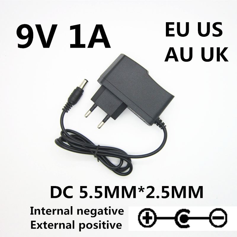 9V 850mA 1000MA 7.7W AC Adaptor Power Supply Wall Charger For CASIO CA-110 <font><b>CA110</b></font> Power Adapter image