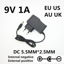 9V 850mA 1000MA AC Adapter Power Supply Wall Charger For CASIO CTK-2000 CTK-2100 CTK-3000 CTK-4000 Adaptor