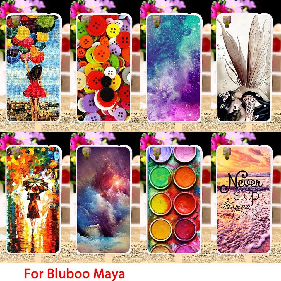 Taoyunxi Soft Tpu Phone Cases For Bluboo Maya 55 Inch Case 360 Full Cover Iphone 7g Plus Softshell Color Girl Sky Smartphone Back Covers Sheaths Skins Shields Hoods
