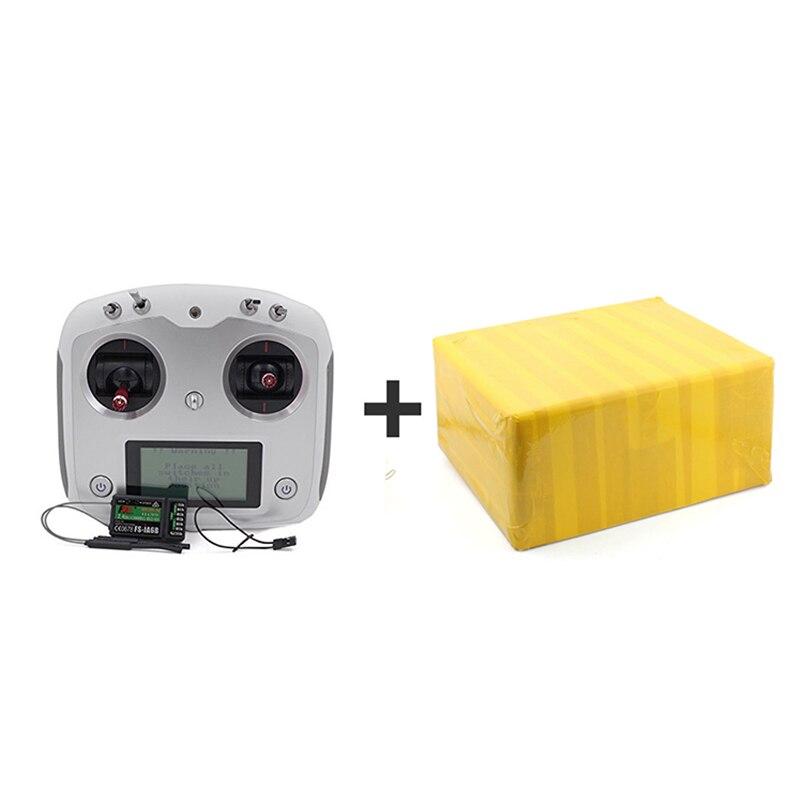 Flysky fs-ia6b 6ch receptor RX modo de acelerador DIY Control remoto drone + fs-i6s 2.4g 10ch afhds transmisor de pantalla táctil f17905bz