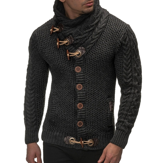 2020 Winter Fashion | Cardigan Men Sweater 2