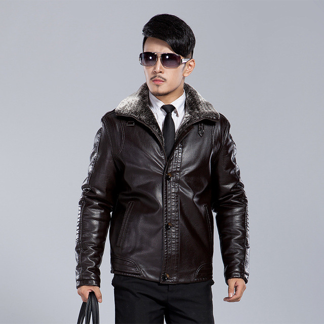 Зимние мужские теплые пальто Мотоцикла Jaqueta Masculinas Inverno Couro кожаные Куртки Мужчины плюс толстый бархат пальто куртки