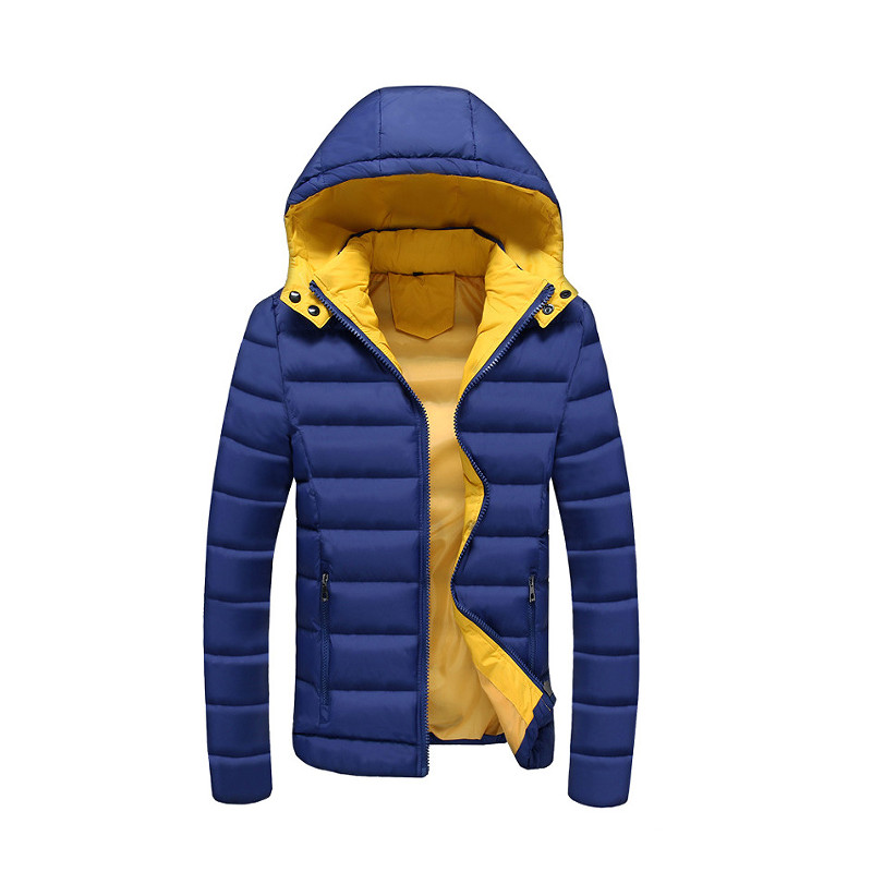 2017 New Hot Men s Winter Casual Parkas Hooded Thicken Jacket for Women Slim Fit Jacket