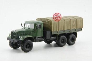 Модель из сплава, 1:43 весы, русский КАМАЗ, KRAZ-6510, внедорожный военный автомобиль, литой под давлением игрушечная модель для коллекции, украшен...
