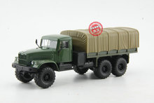 Alloy Model 1:43 Scale Russian Kamaz KRAZ-6510 Off-road Military Truck Vehicle Diecast Toy Model For Collection,Decoration