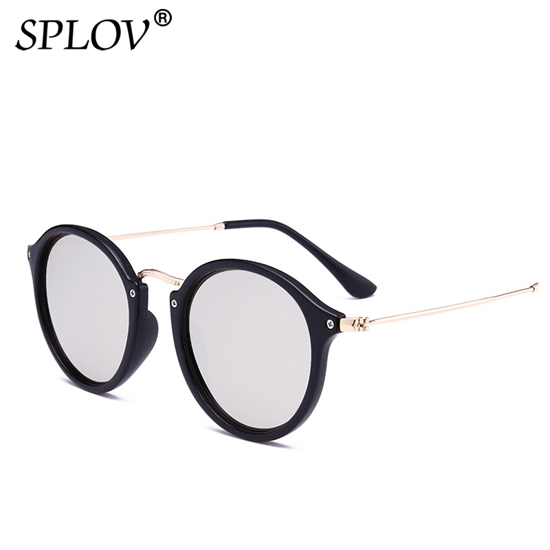 New Arrival Round Sunglasses coating Retro Men women Brand Designer Sunglasses Vintage mirrored glasses longkeeper steampunk sunglasses for women men 2017 brand designer cat eye sun glasses retro vintage coating or clear lens a1009