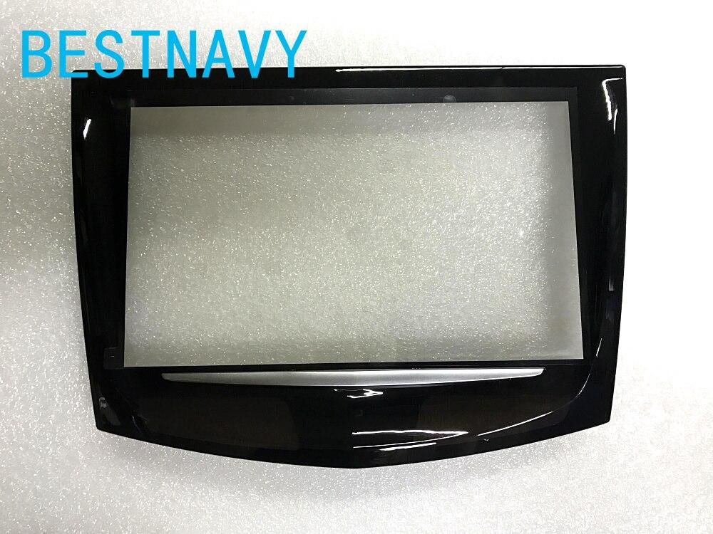 【送料無料】新キュータッチスクリーン使用キャデラック車の DVD GPS ナビゲーション、液晶パネルキュー ATX CTS SRX タッチデジタイザ  グループ上の 自動車 &バイク からの 車 モニター の中 1