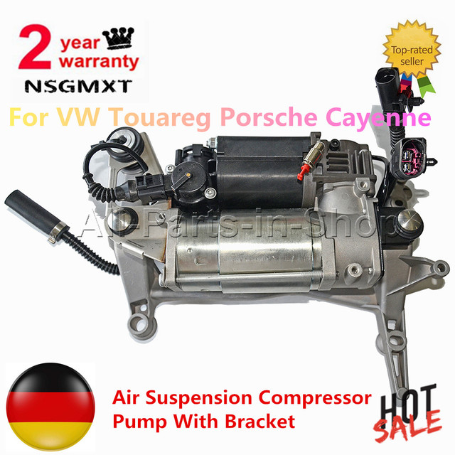 Air Suspension Compressor Pump For Porsche Cayenne Vw Touareg 7l0616007b 4154033020 95535890104 4154031130