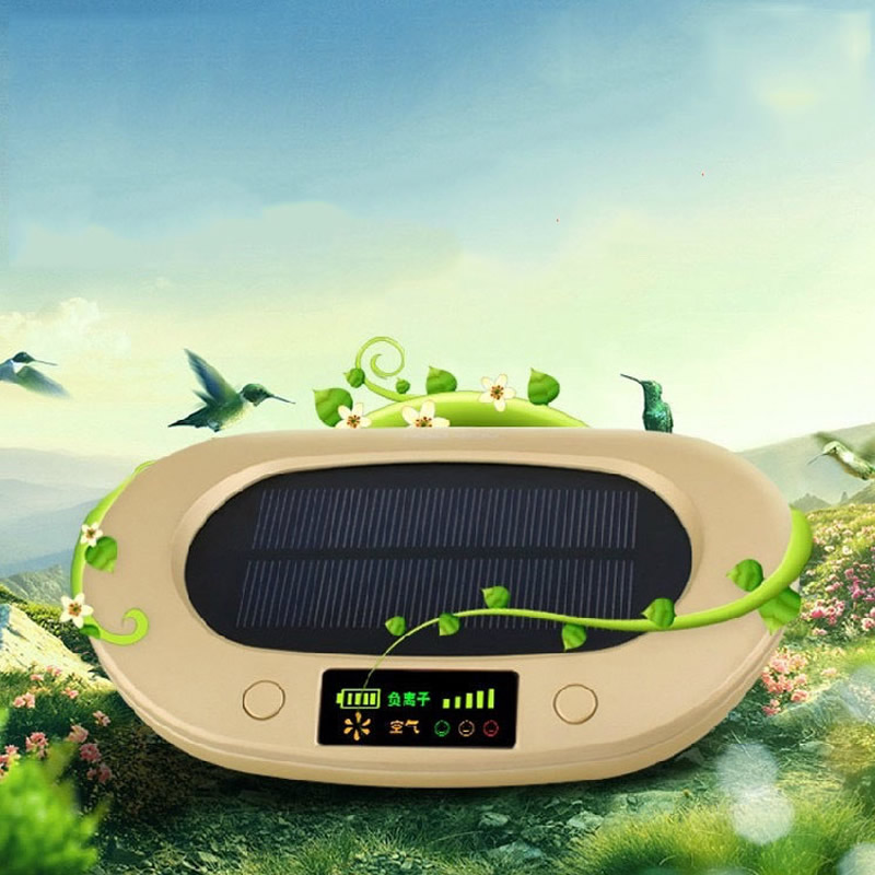 AS-1 Solar energy  Air Purifier Oxygen Bar Air Purification Machine for Car & Bedroom  Air Cleaner solar energy modelling and assessing photovoltaic energy