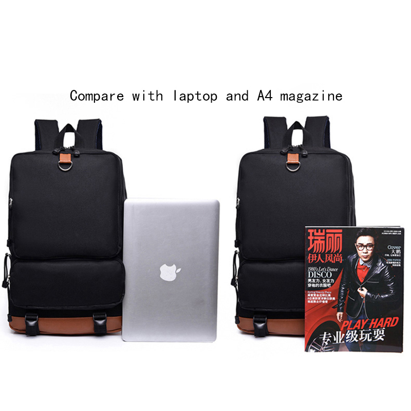 9d63b42f02 American Horror Story Evan Peters Backpacks School Bag for Teenagers  Students Canvas Laptop Backpack Women Men Casual Travel Bag-in Backpacks  from Luggage ...