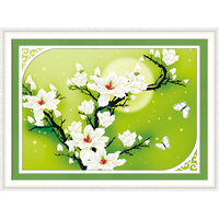 Diy 5d Diamond Painting Flower Diamond Inlaid Sitting Room Bedroom Adornment To Give A Child Gift
