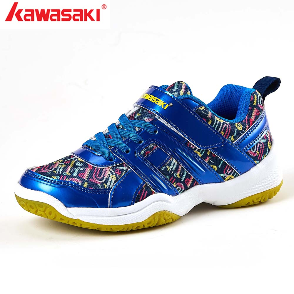 7b8820ea8d6 2019 Kawasaki Children Shoes Boys Sports Shoes Fashion Brand Casual  Breathable Outdoor Kids Sneakers Boy Badminton Shoes KC 15-in Badminton  Shoes from ...