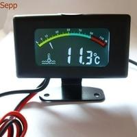 Red Crown Special Bargain 12V24V36V High Precision Digital Thermometer With Color Screen Auto Sensor