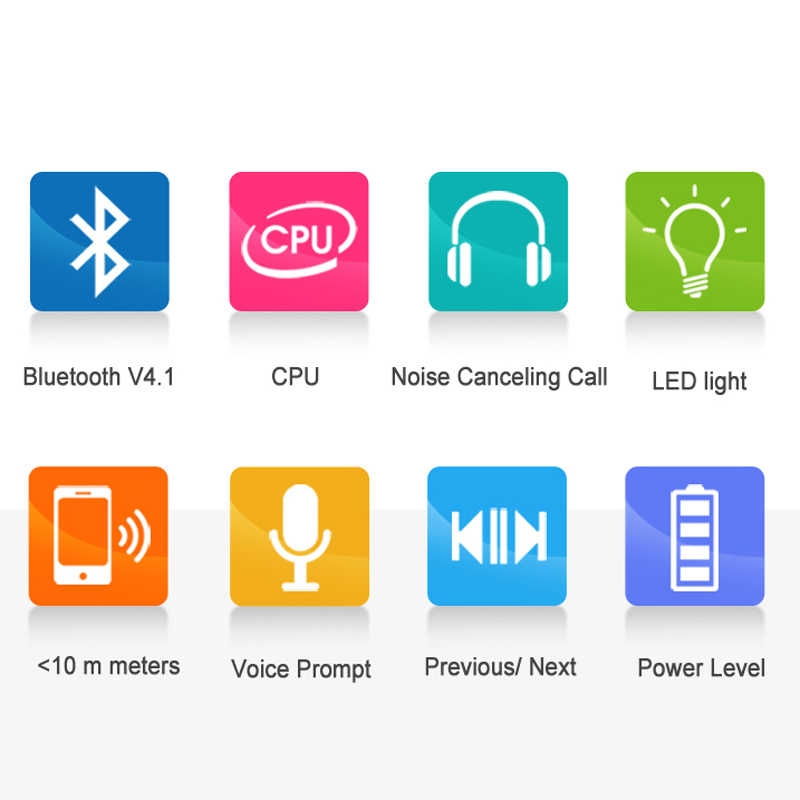 Nvahva Neckband Bluetooth Headphone dengan Tf Card Slot Olahraga Bluetooth Headset Nirkabel Stereo Earphone untuk iPhone Android Ponsel