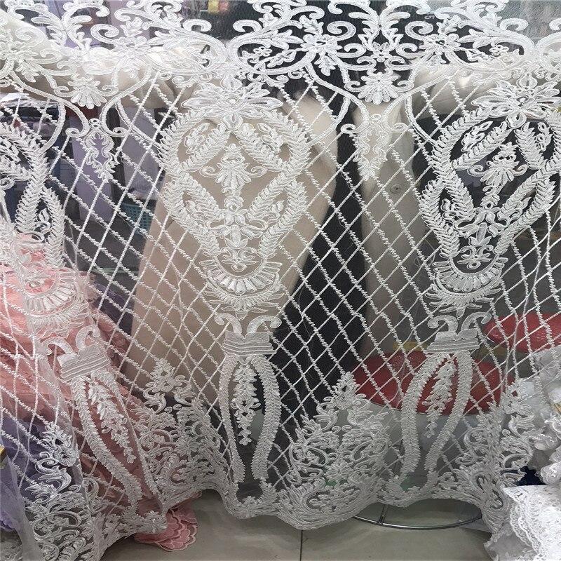 جميلة الفضة رمادي 3 D الدانتيل زين زهرة الدانتيل النيجيري النسيج مع الخرز بيع جيدا Hign حيث جودة الدانتيل تقليم اللباس f1204-في دانتيل من المنزل والحديقة على  مجموعة 3