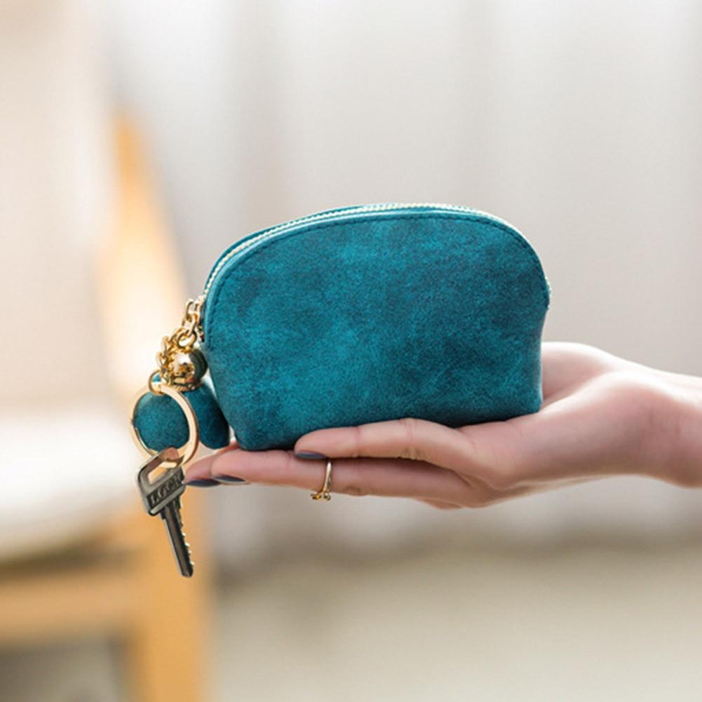 Women Girls Leather Wallet Card Holder Coin Purse C