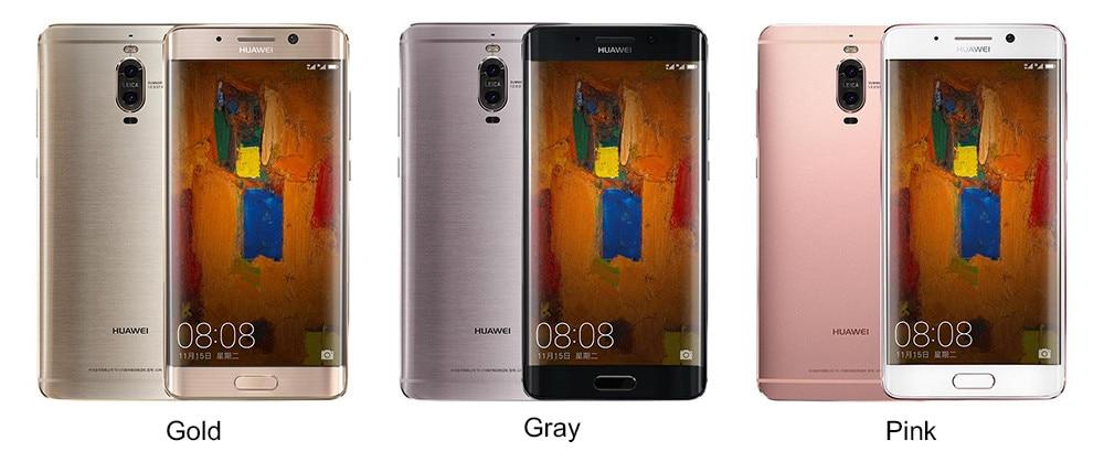 Global ROM huawei Коврики 9 Pro 4G/6G RAM 6 4G/128G ROM 5,5 ''экран 2k мобильного телефона Android 7,0 KIRIN 960 Octa core Нагнетатель