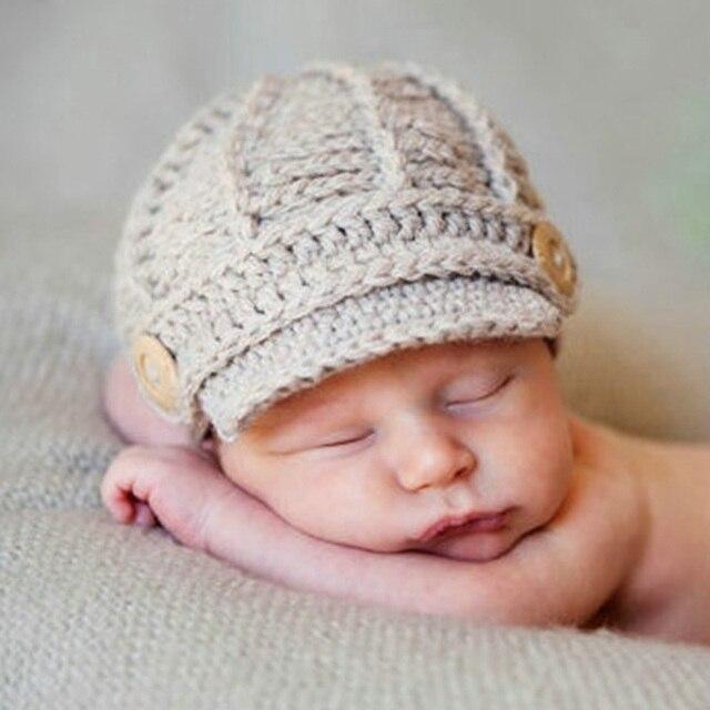 2015 Recién Nacido Bebé Sombrero del vendedor de Periódicos ...