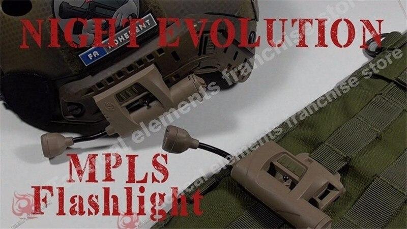 Evolução noite Farol Cobrar MPLS Capacete Lanterna