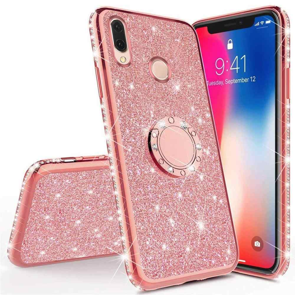 Diamond Case for Huawei View 20 Y9 Y6 Y7 Y5 2019 2018 Cover For Huawei Honor 7C 7A 8A 8S 20 Play 8C Mate 10 9 Pro Glitter Case
