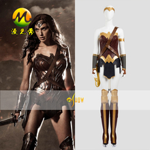 Custom Made Hot Super Hero Wonder Woman Princess Diana font b Cosplay b font Costume Dresses