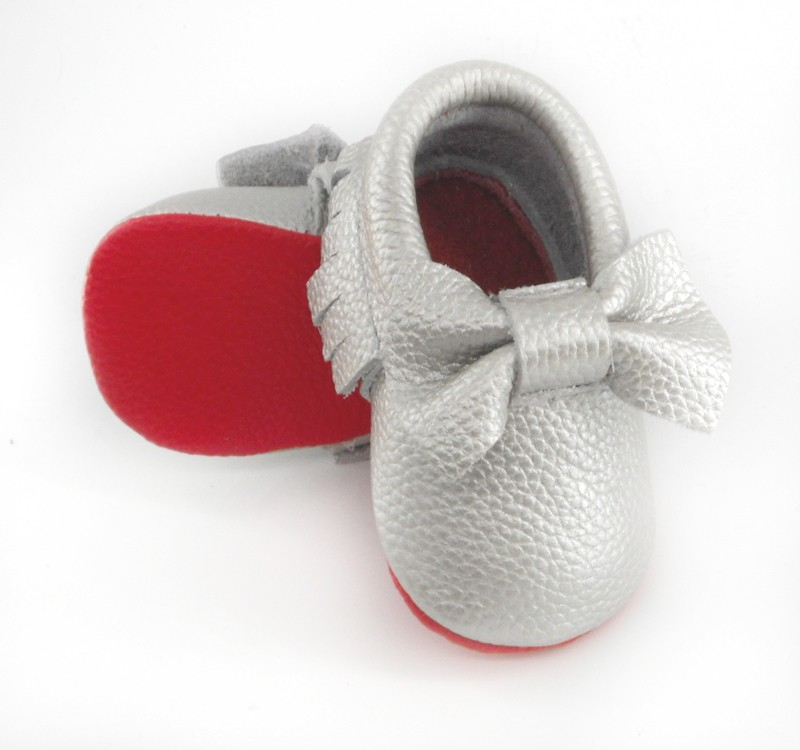 silver bow red leather 3