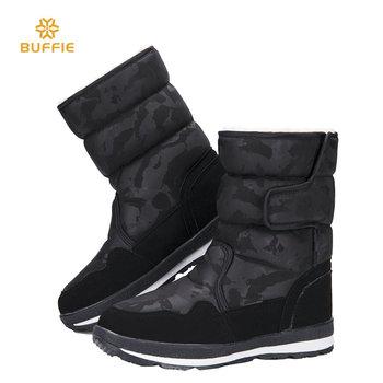 Buty kobieta kobieta czarny zima śnieg Boot kamuflażu projekt duży rozmiar ciepłe futro Super jakość Made in China guma podeszwa buty za darmo tanie i dobre opinie Dorosłych Niska (1cm-3cm) Klamra Połowy łydki Shearling od 0 do 3 cm Płaskie z Zaczep pętli M904 Syntetycznych Okrągły palec