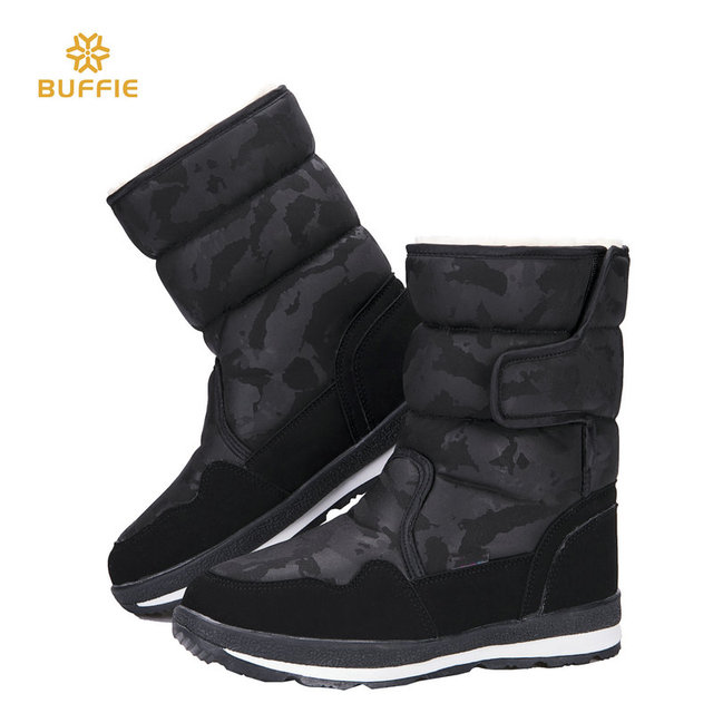 Shoes woman female black winter snow boot camouflage design big size warm  fur super quality made in china Rubber sole boots free 98827aa3518d