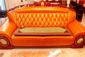 Free Shipping Jade Physical Therapy Cushion Germanium Seat Mat Tourmaline Health Heated Sofa Electric Heat Mats Health Care Mat