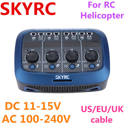 SKYRC Quattro Charger Discharger for LOSI Micro MX mCPX Micro 4*4W 4*1S Lipo Batter For RC Helicopter  airplane Battery