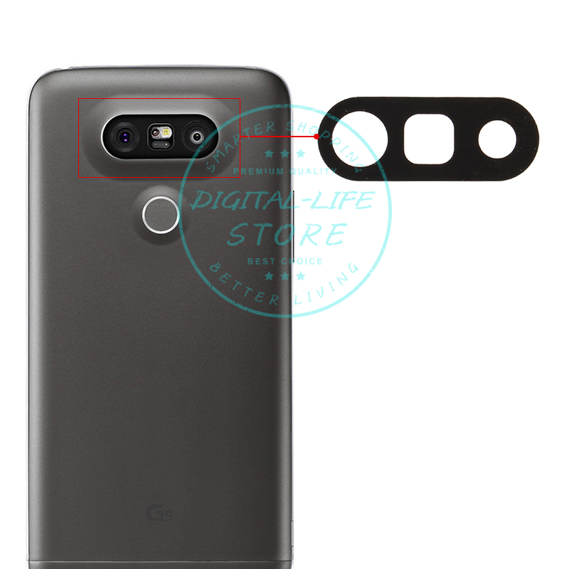 Lens Camera Lg G5 Replacement Repair-Spare-Parts Black for H850/H820/H830/.. Glass