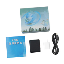 Gratuito a vita Dispositivo di Tracciamento GSM Personal Tracker X009 Mini GSM SpyTracking con 2 M Monitor Della Macchina Fotografica Video Recorder LBS Locator