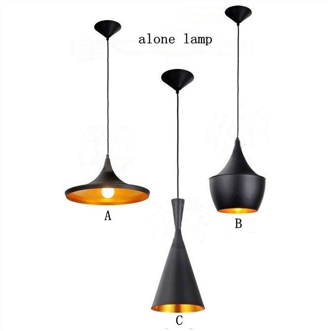 loft Vintage Pendant Lights Industrial retro industrial wind lamp creative bar Restaurant Counter Attic Cafe aluminum lamp