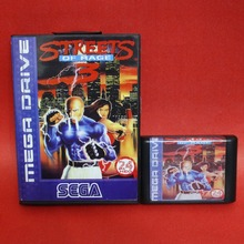 Streets Of Rage 3 16 bit MD card with Retail box for Sega MegaDrive Video Game console system