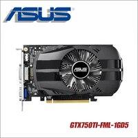Asus GTX750TI FML 1GD5 GTX750TI GTX 750TI 750 1G D5 DDR5 128 Bit PC Desktop Graphics