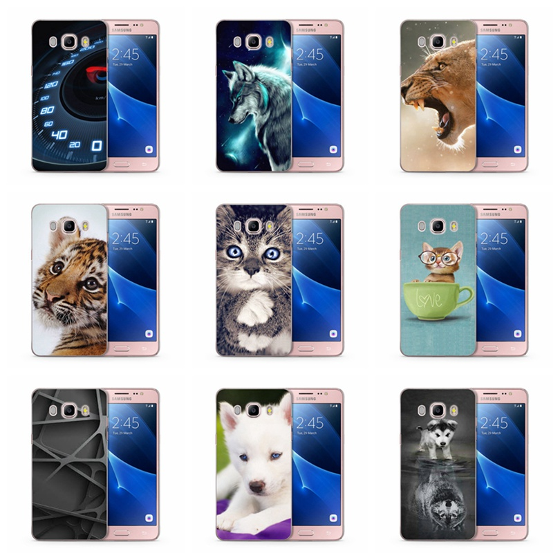 TPU Luxury For Samsung Galaxy A3 A5 2016 2017 prime J1 J2 J3 J5 J7 TPU Colorful Soft Cover Cool Cartoon Back Case Fundas C132 image