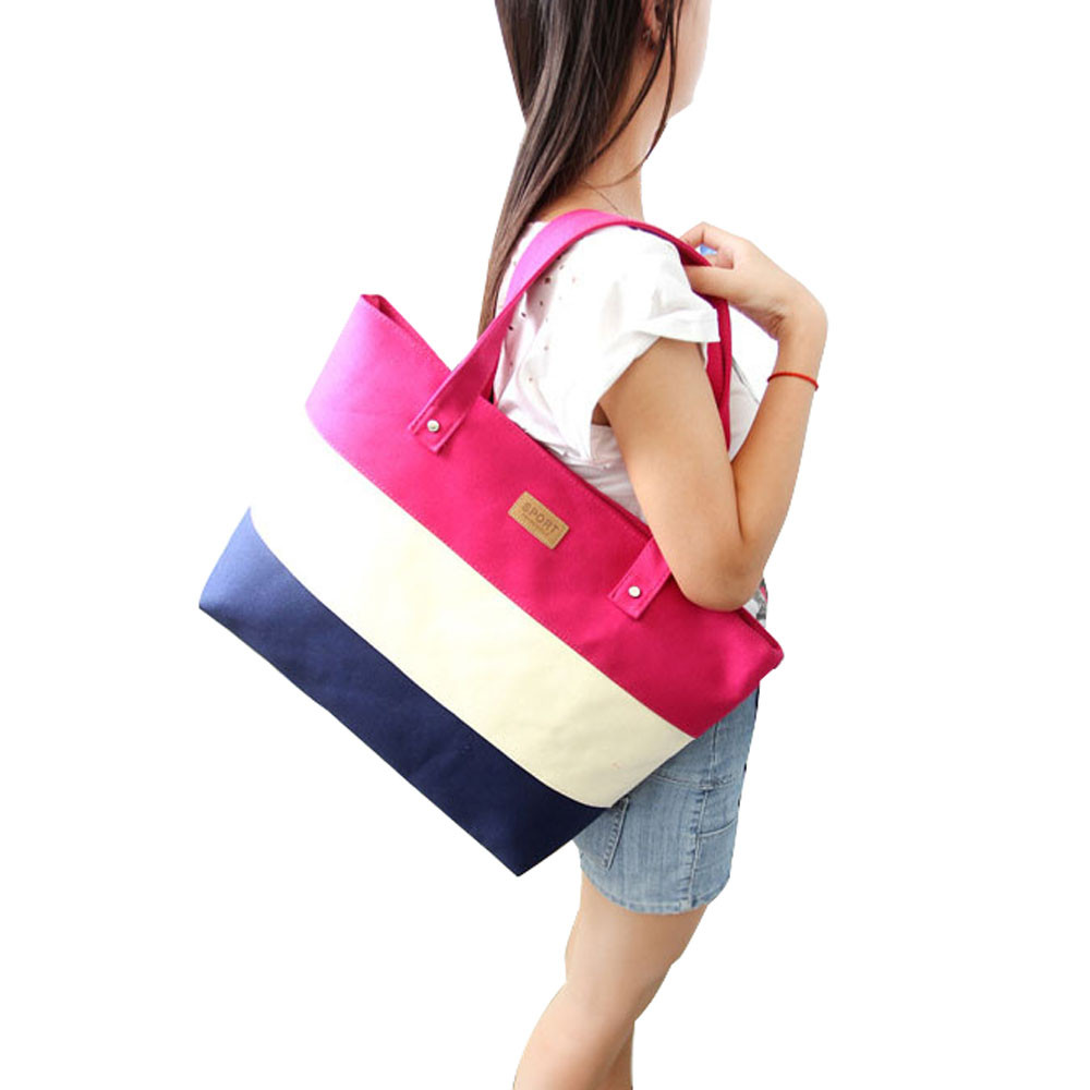 Shopper Big Beach Canvas Lady Handbags Hand Tote Shoulder Women Messenger Bag Female Sac A Main Femme De Marque Bolsas Femininas