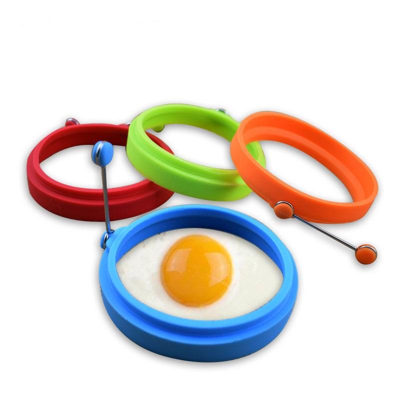 Analytisch Silikon Pfannkuchen Maker Spiegelei Pfannkuchen Ring Omelett Spiegelei Runde Former Ei Form Für Kochen Frühstück Braten Pan Küche